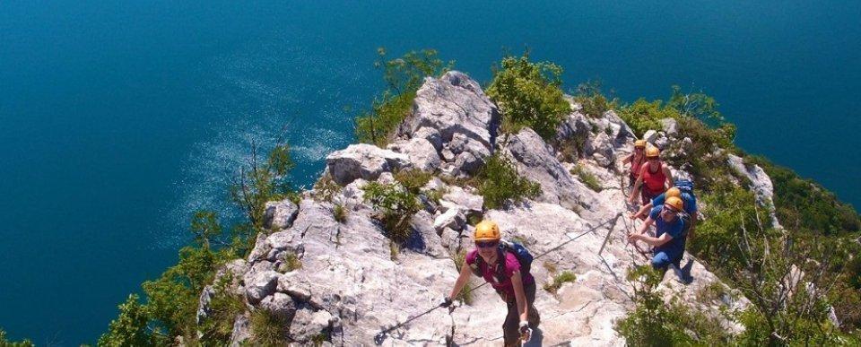 Garda-tó - via ferrata
