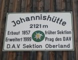 Grossvenediger (3666m) - Johannishütte (2121m)