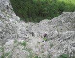 Via ferrata: Rax-Teufelsbadstubensteig - egy könnyebb szakaszon