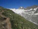 Grossvenediger (3666m) - útban a menedékház felé
