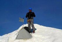 Júliai-Alpok: Triglav (2864m) - téli mászás